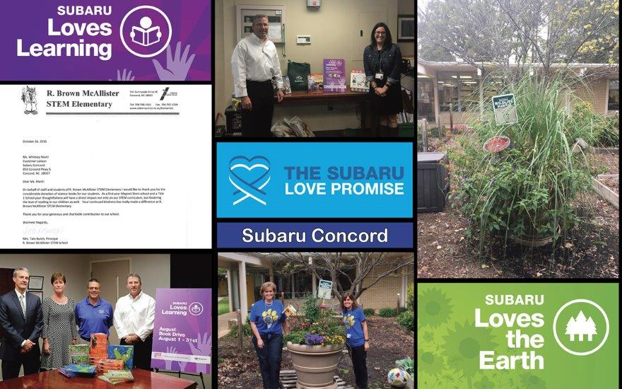 Subaru's Love Promise Partnership