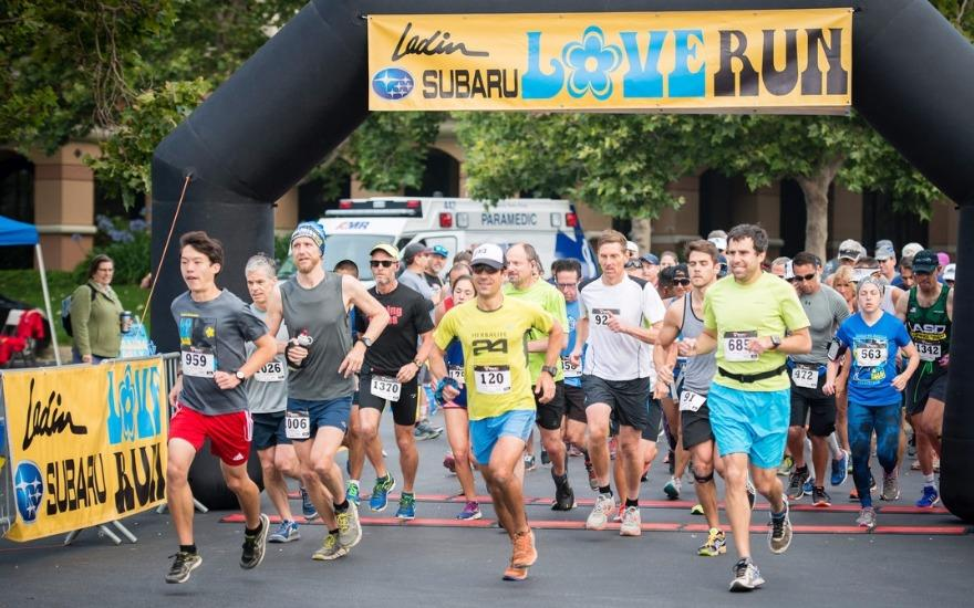 The Ladin Subaru Love Run raises $80,000
