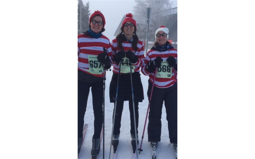 Anchorage Women Ski to Stop Domestic Abuse