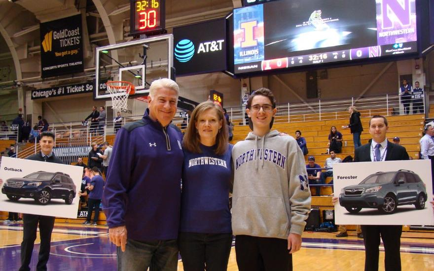 Social Media yields a Northwestern Fan's Dream