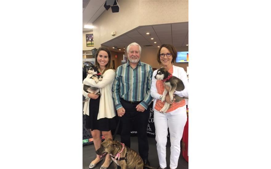Dog Adoption Day at Coconut Creek Subaru