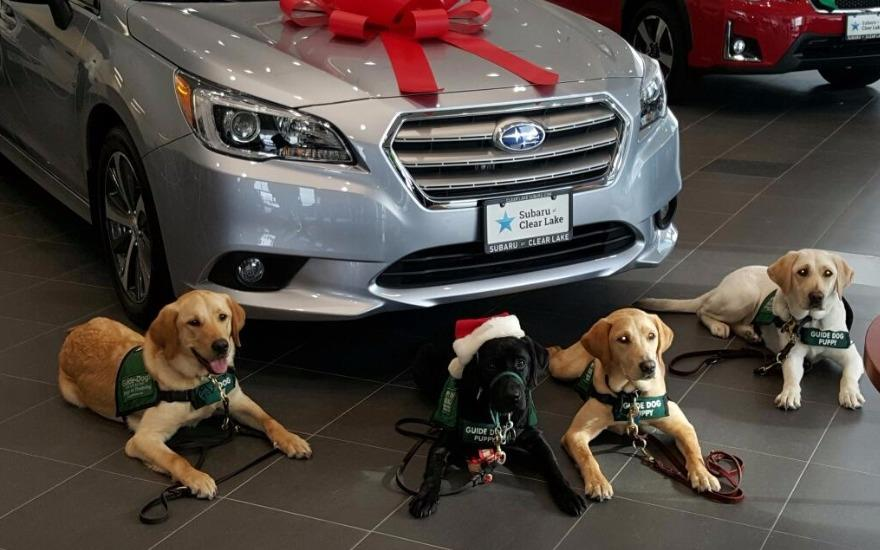Subaru of Clear Lake delivers a Love Promise