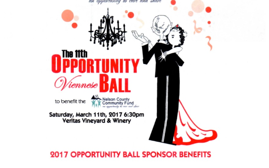 Nelson County Community Fund -The Opportunity Ball
