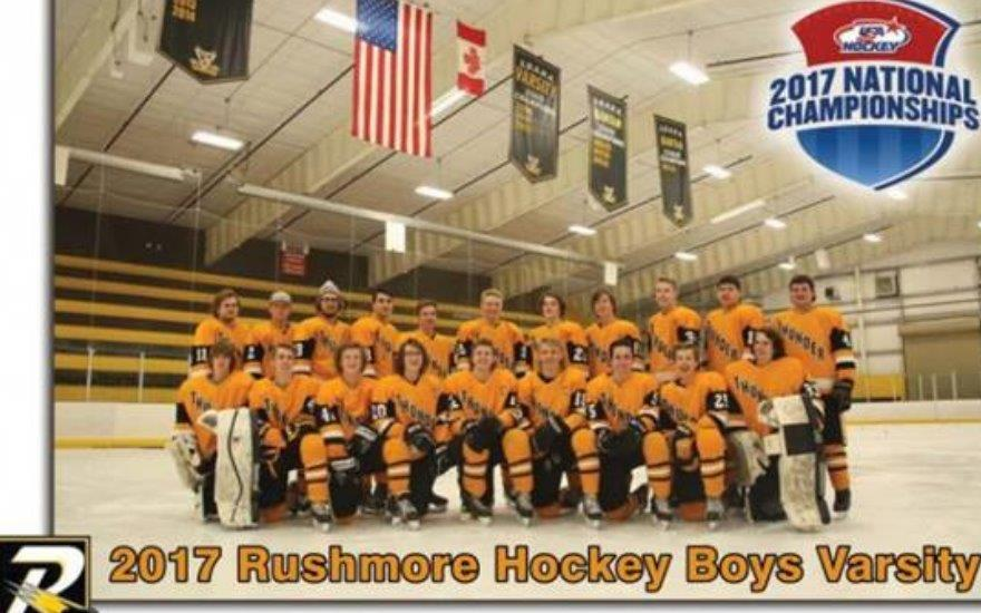 Rushmore Thunder Hockey Boys Varsity Team