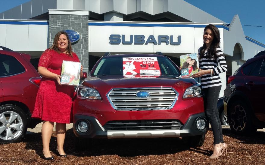 Subaru goes Red for Heart Month