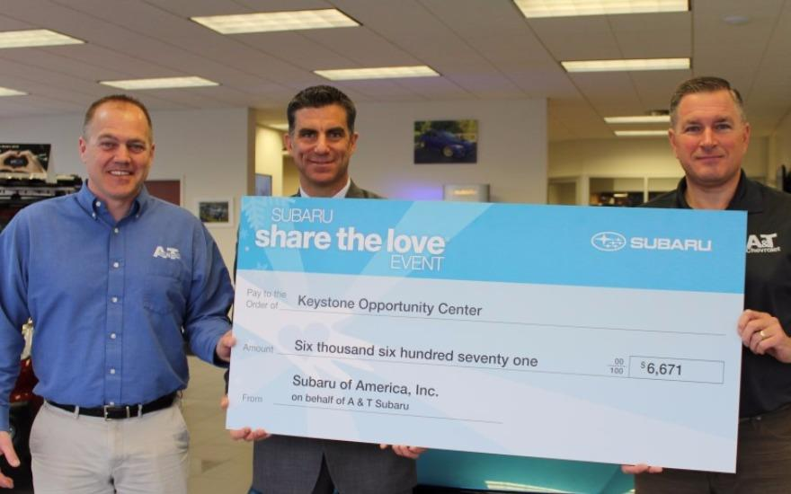 Share the Love Raises $6,671 for Hometown Charity