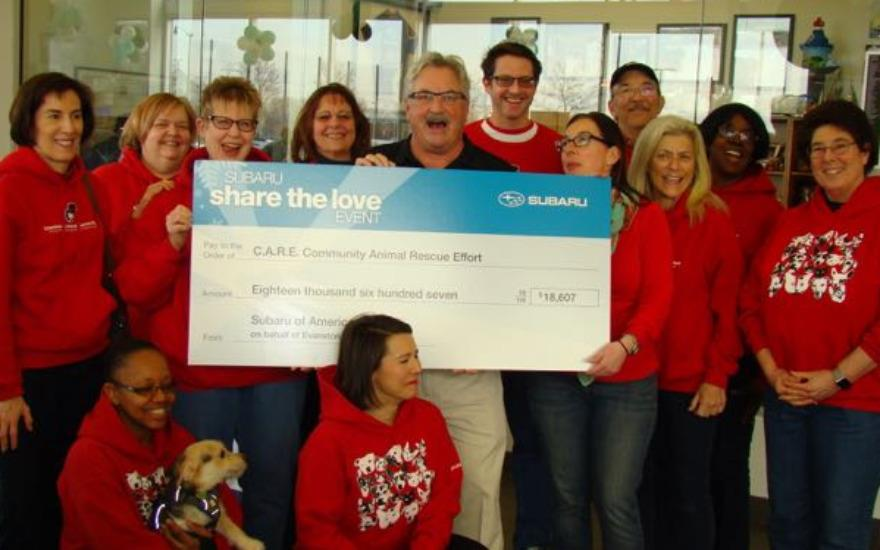 Share the Love Nets $18K to Local Animal Shelter