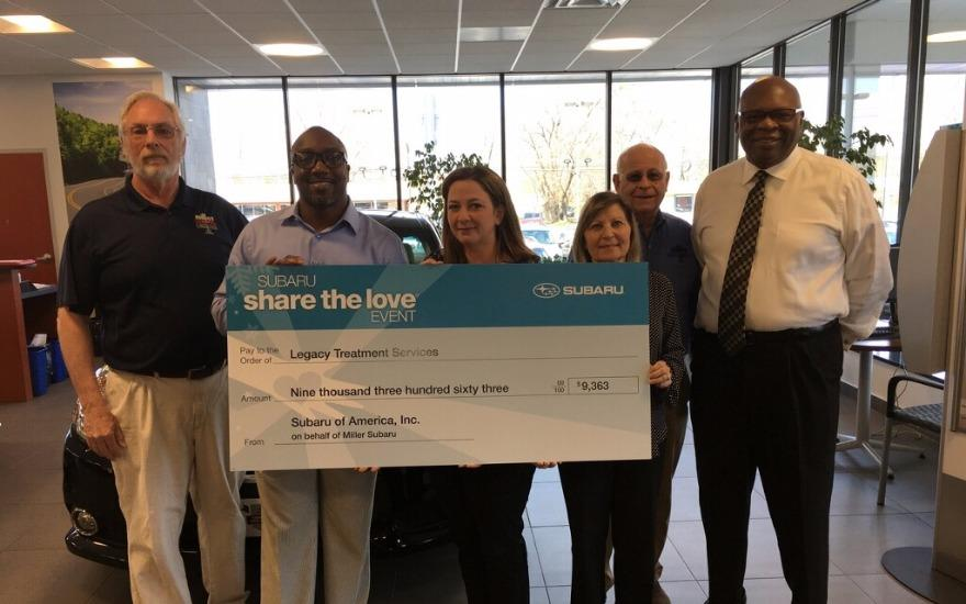 Miller Subaru - Creating a Legacy in the community
