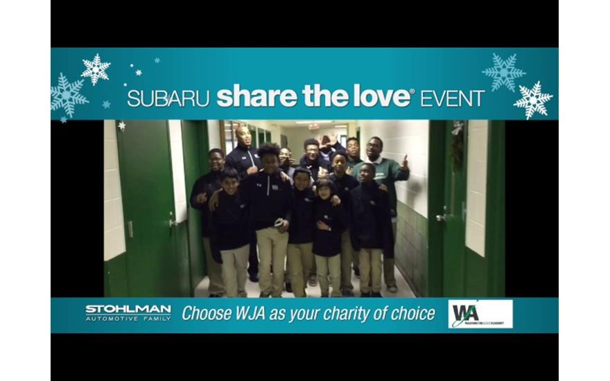 Stohlman Subaru Puts A Little Love in Our Heart!