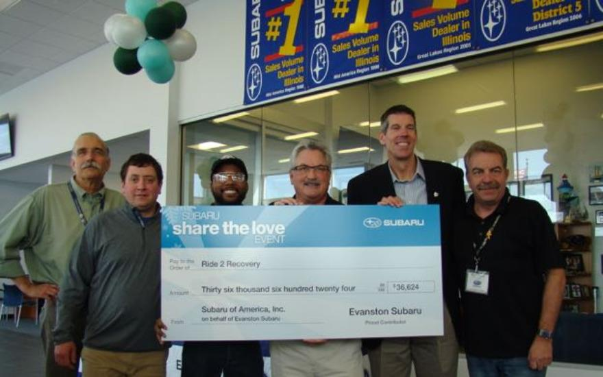 $36,000 to Help Veterans by Sharing the Love