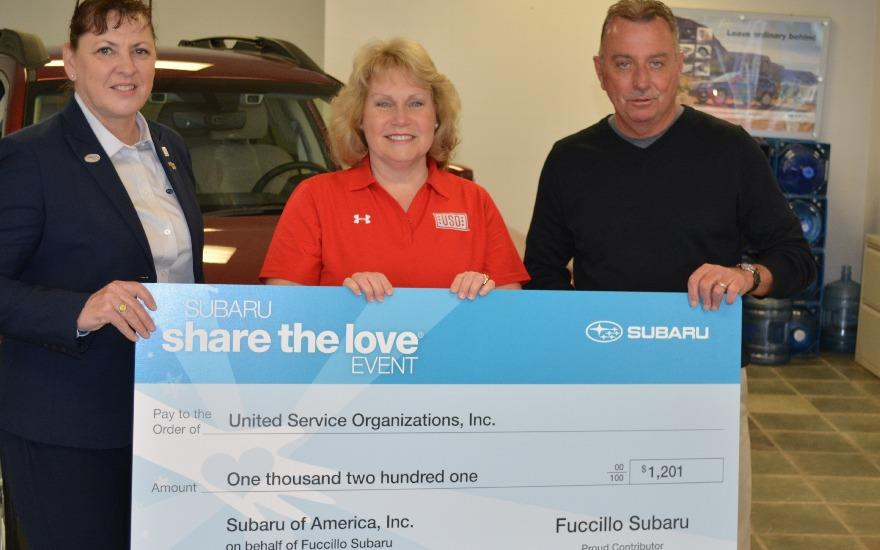 Subaru Supports the USO Fort Drum