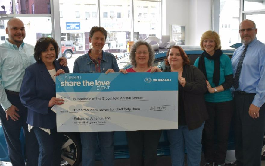 Thanks to the Lynnes Subaru Team!