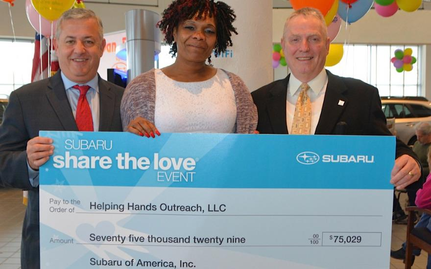 "Dan Perkins Subaru ""Share The Love"" presentation"