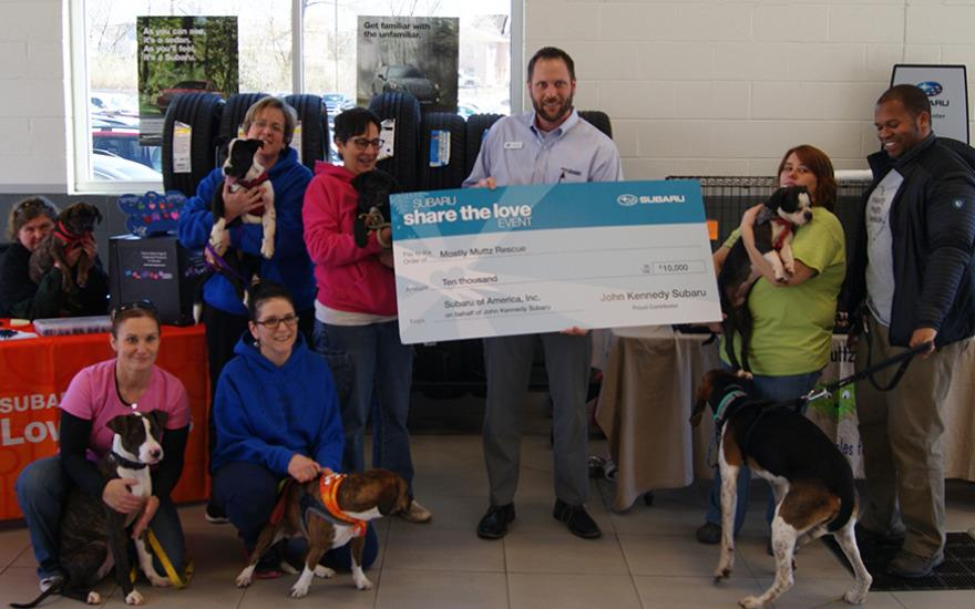 2017 Mostly Muttz Rescue Check Presentation