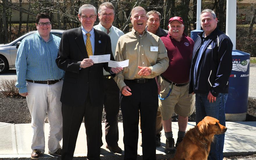 Helping Parks Department's Shade Tree Program