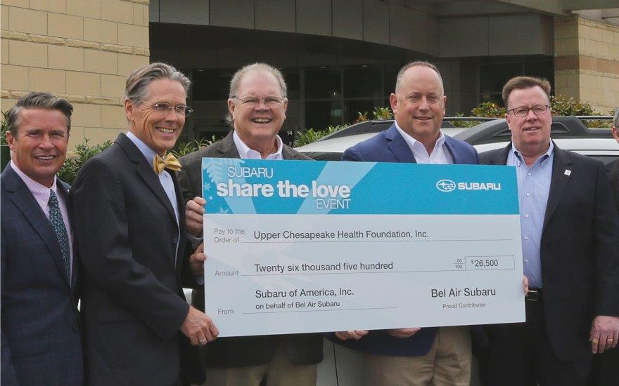 Share the Love Supports Kaufman Cancer Center