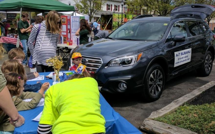 Perkasie Borough Pop-Up Park for Earth Day