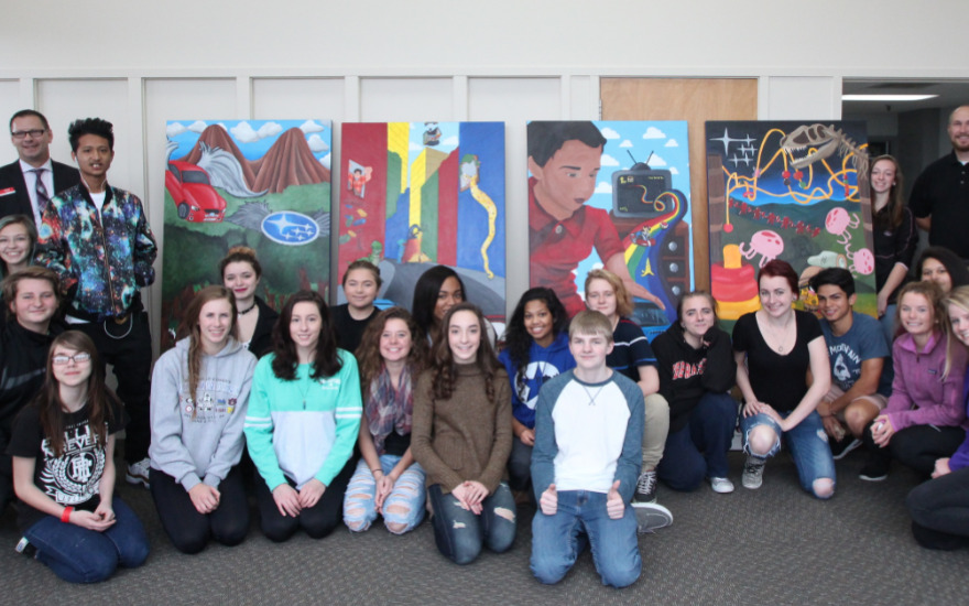 Omaha Burke High School Mural Story