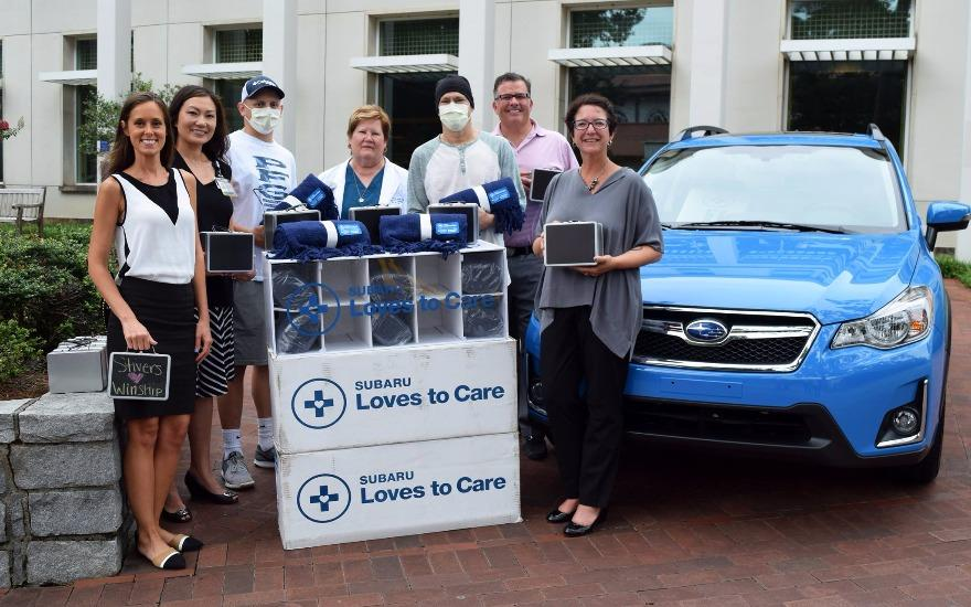 Subaru Loves to Care for Cancer Patients