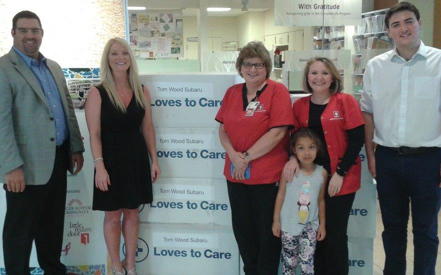 Subaru Loves to Care w/Leukemia & Lymphoma Society
