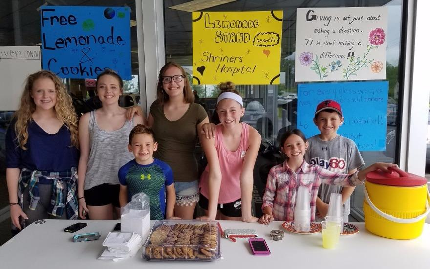Lemonade and Cookies for a Great Cause