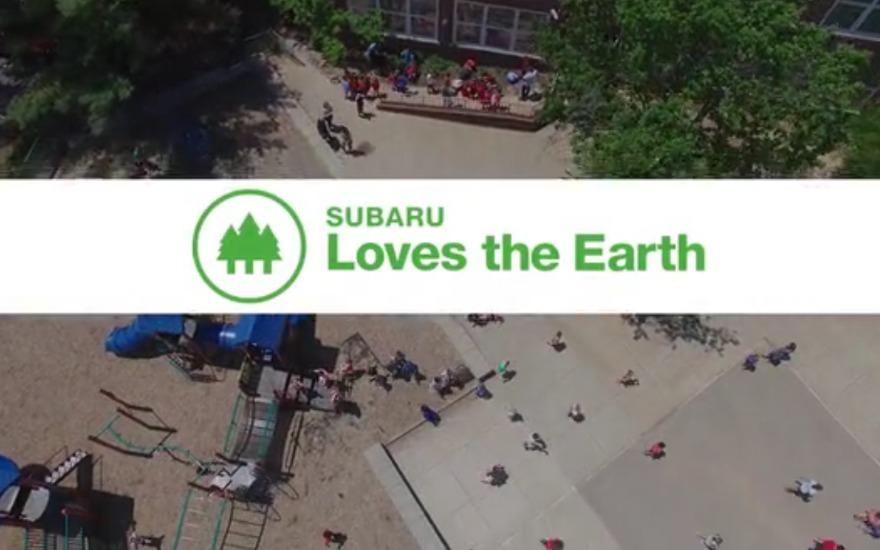 Subaru and NWF Loves the Earth