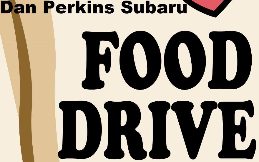 Dan Perkins Subaru Holds Food Drive