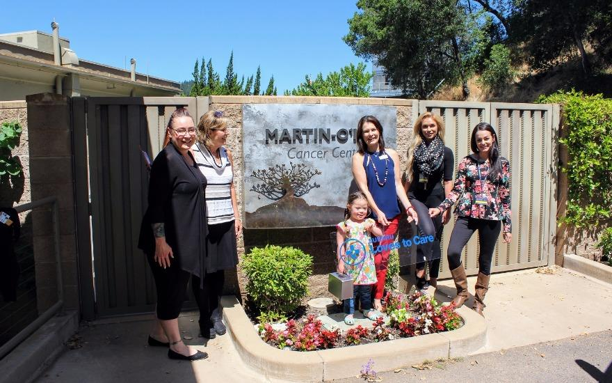 Blankets for cancer patients from Hanlees