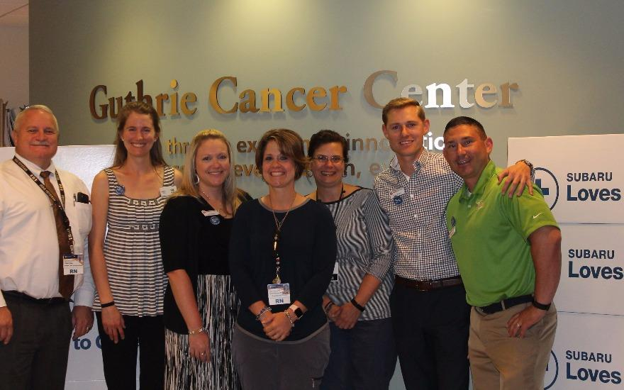 Williams Subaru Shares the Love to Cancer Patients