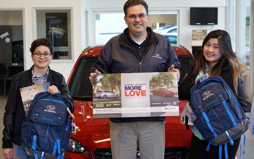 2017 Impreza More 2 Love Launch Event