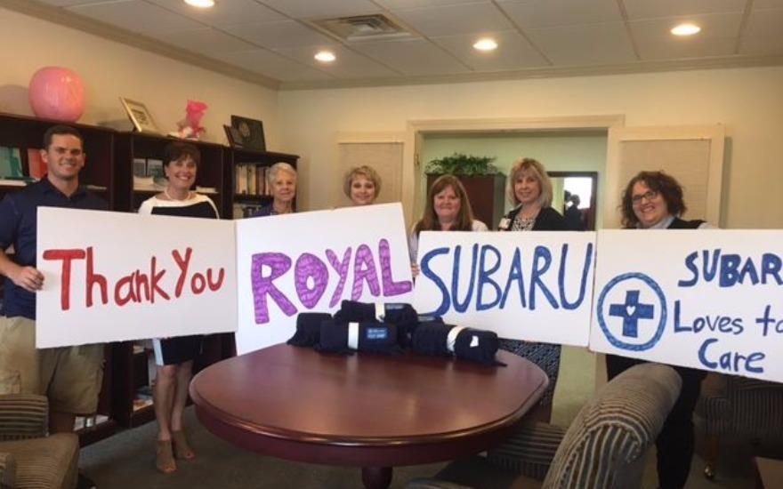 Subaru and LLS Love to Care!