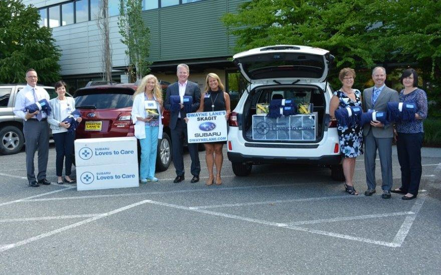 Dwayne Lane's Skagit Subaru Cares about Patients