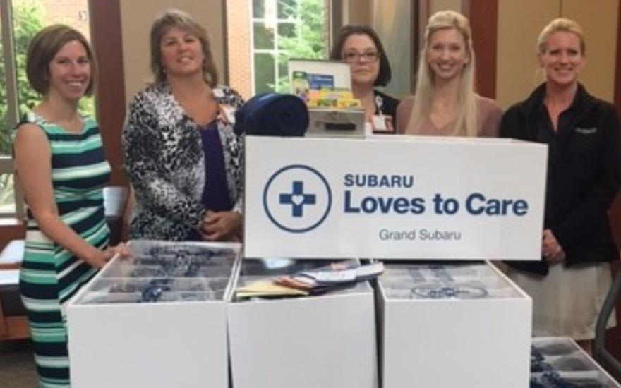 Subaru Loves To Care - Elmhurst Hospital Delivery