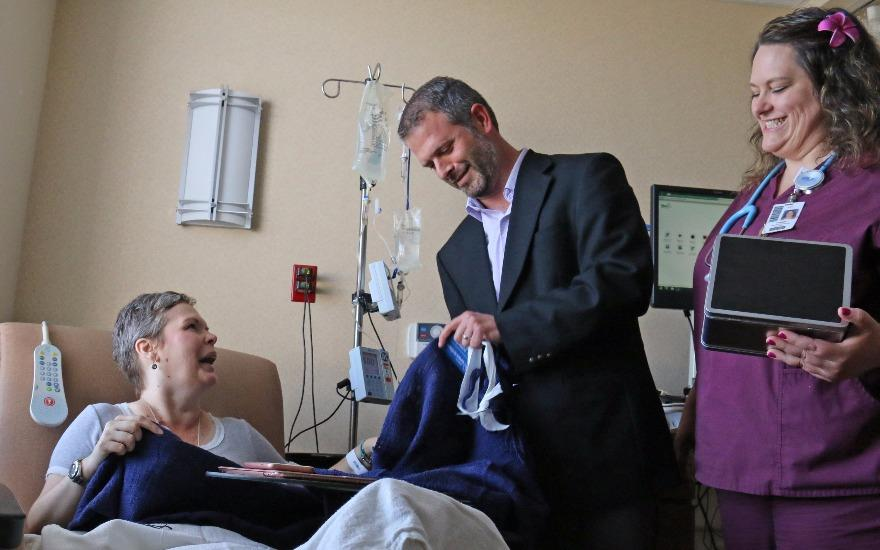 Cold Hands, Warm Hearts: Care for Cancer Patients