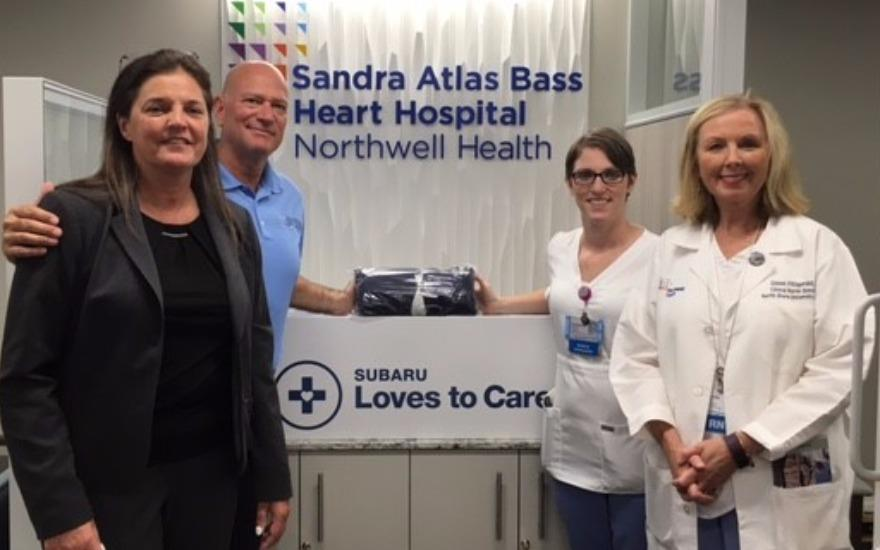 East Hills Donation Keeping Patients Warm
