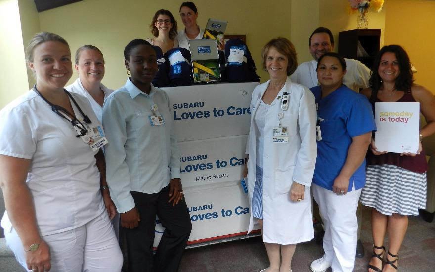 Delivery of Hope to Huntington Hospital