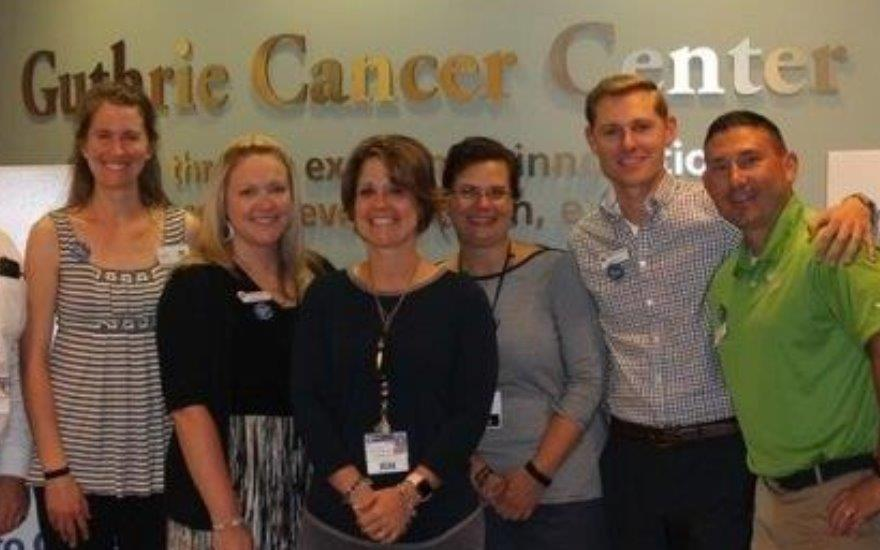 Guthrie Cancer Center Accepts Donation