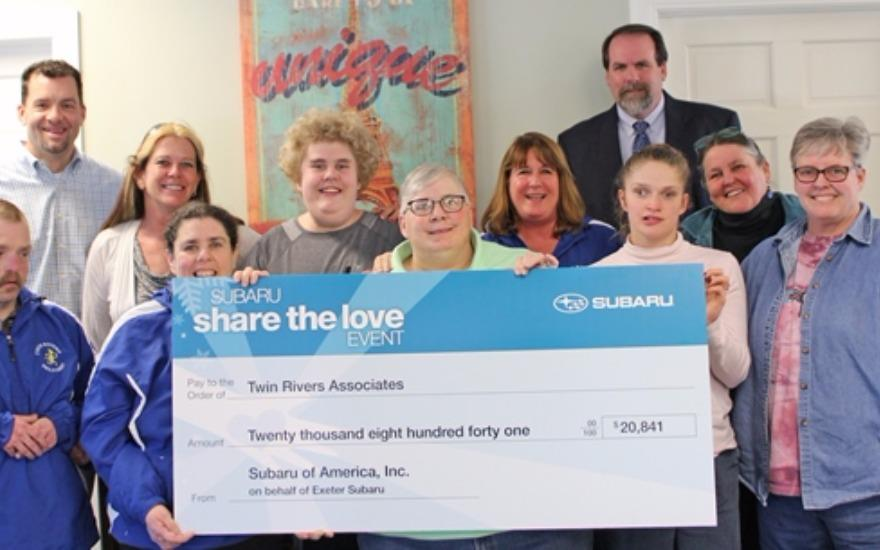 """Share the Love"" with Twin Rivers Associates"