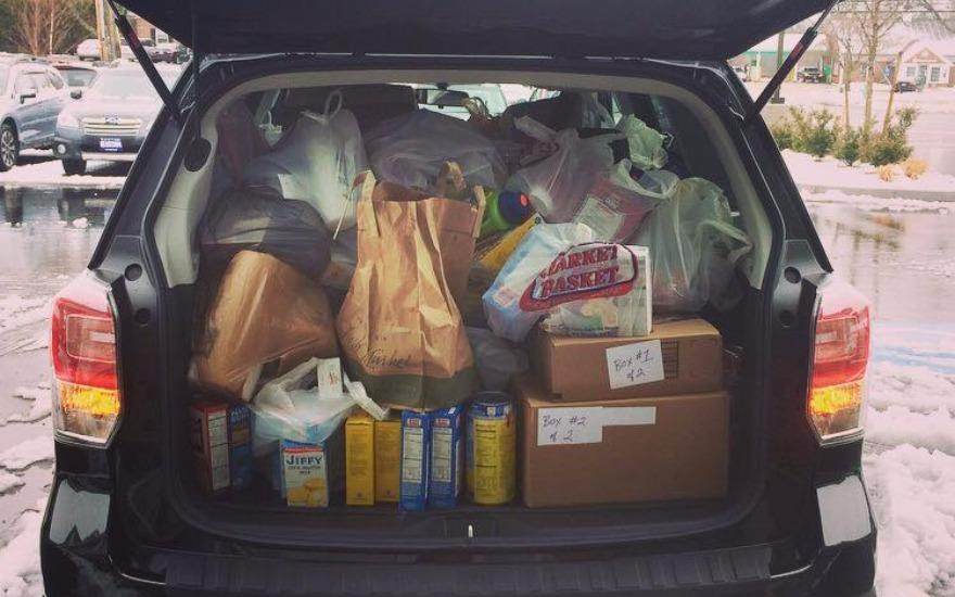 Holiday Fill-A-Forester Food Drive