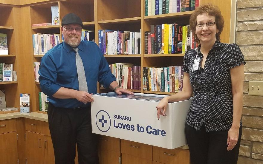 LLS & Subaru Deliver Blankets to Cancer Patients