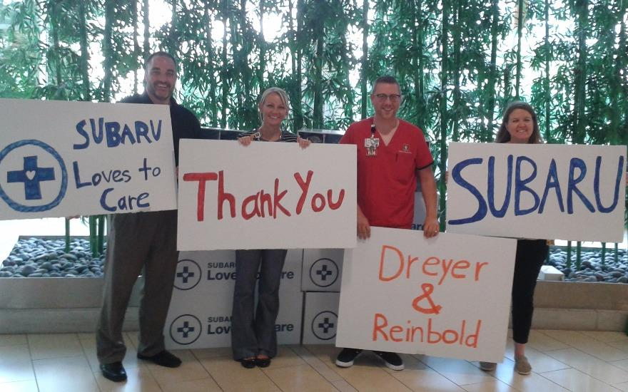 Subaru & LLS Love to Care!