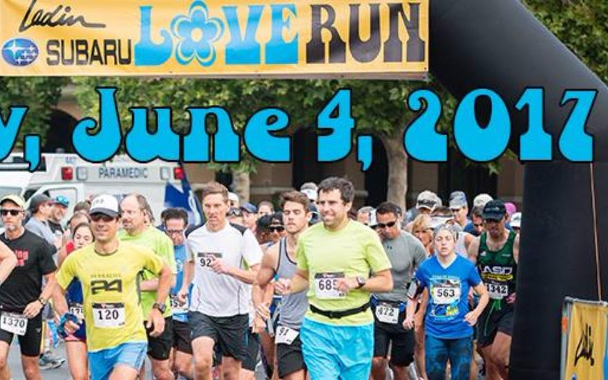 LADIN SUBARU LOVE RUN NETS  $100,000