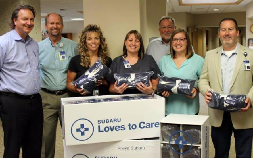 Subaru Loves to Care partners with LLS