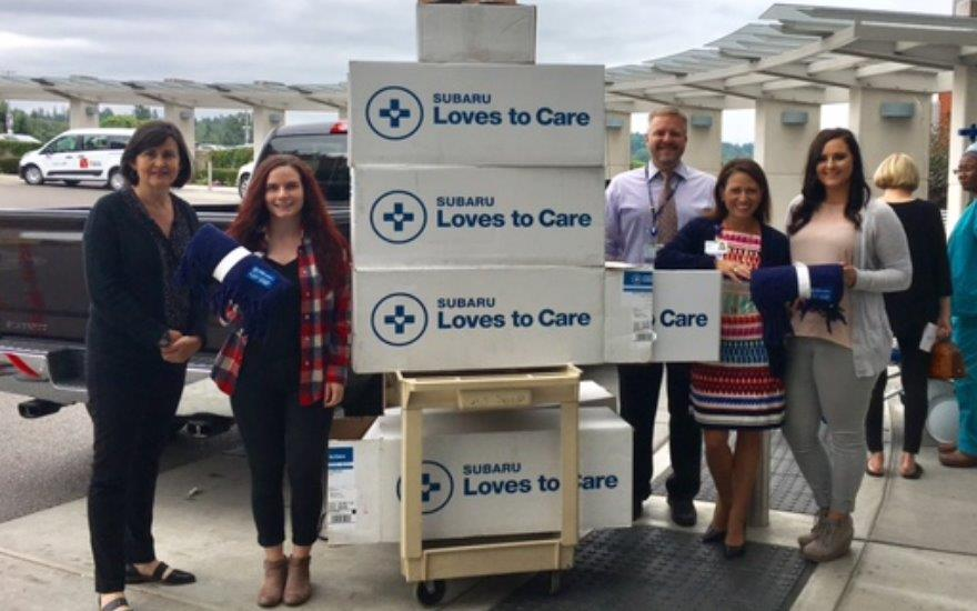 Subaru Shares the Love with Local Cancer Patients