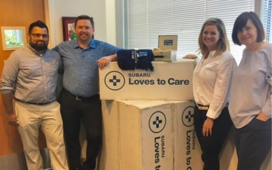 Eastside Subaru Supports Local Cancer Patients