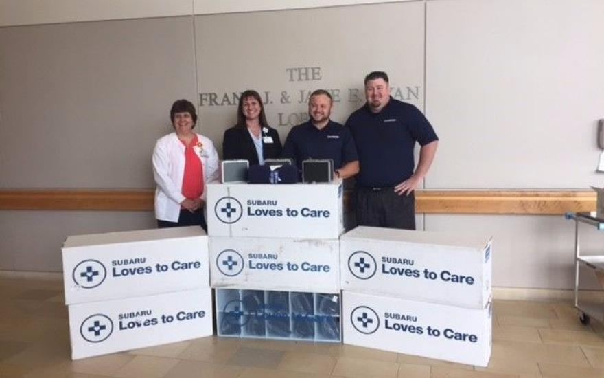LVH Cedar Crest & Subaru Loves to Care