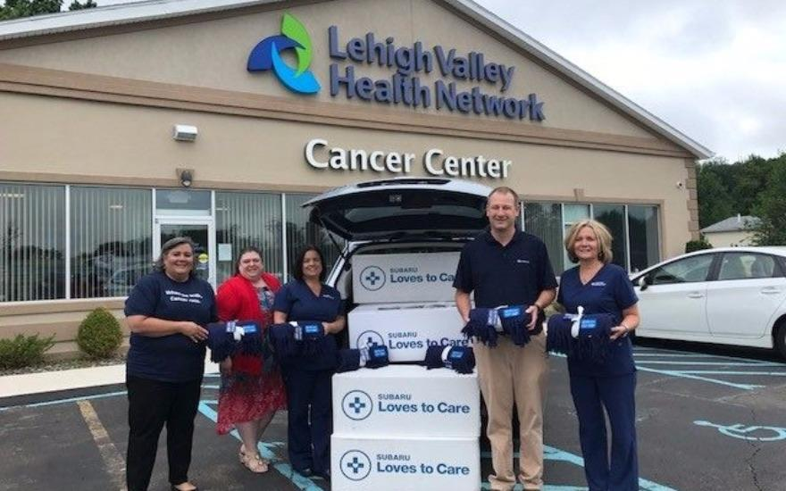 LVHN Hazelton & Fairway Subaru Loves To Care
