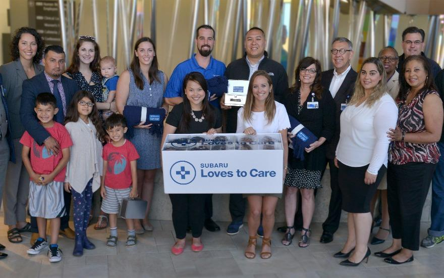 Subaru & LLS Deliver Hope to Cancer Patients