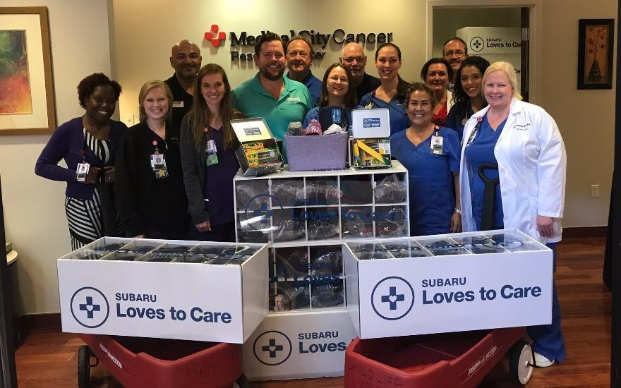 Subaru Brings Warmth to Cancer Patients