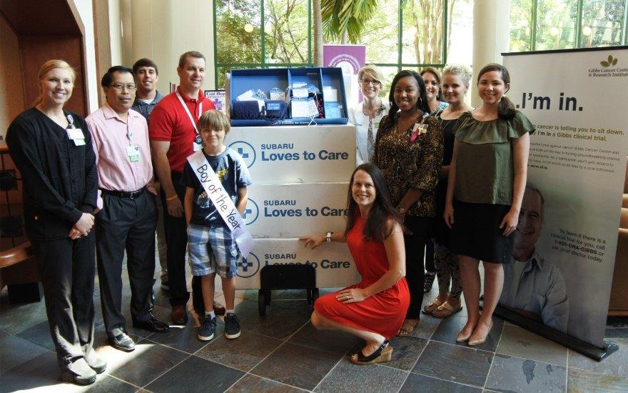 Subaru & LLS Partner for Cancer Patients